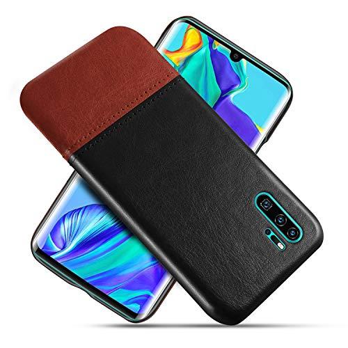 Oihxse Funda retro compatible con Xiaomi Mi Mix 3, funda de teléfono móvil suave de poliuretano + plástico duro, costuras de colores, funda de piel, original de moda multicolor clásica.