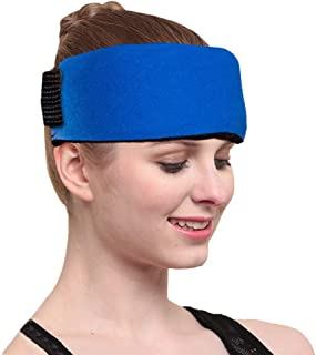 Reusable 2 Gel Ice Pack & 1 Hot Cold Therapy Wrap Flexible Reusable for Fast Pain Relief Sports Injuries First Aid Essenti...