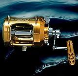 OKIAYA Marlin Series Pro National 50W-II 2 Speed Reel with AXR Drag