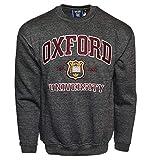 Oxford University OU201 - Sudadera unisex, color gris oscuro Negro gris oscuro X-Small