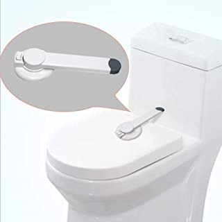 Protecci/ón ni/ños Producto Cerraduras De Seguridad Adhesivo de montaje de asiento de inodoro WC Tapa de cierre con