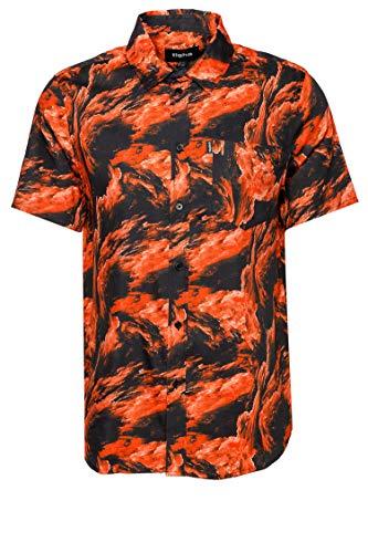Tigha Herren Hemd Sveni Orange XL
