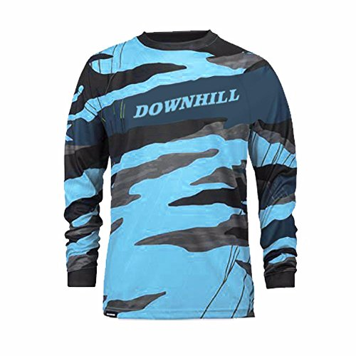 Uglyfrog Designs Erwachsene Herren Downhill Trikot MX Jersey Lange ?rmel Spring Fahrrad Motocross Offroad T-Shirt