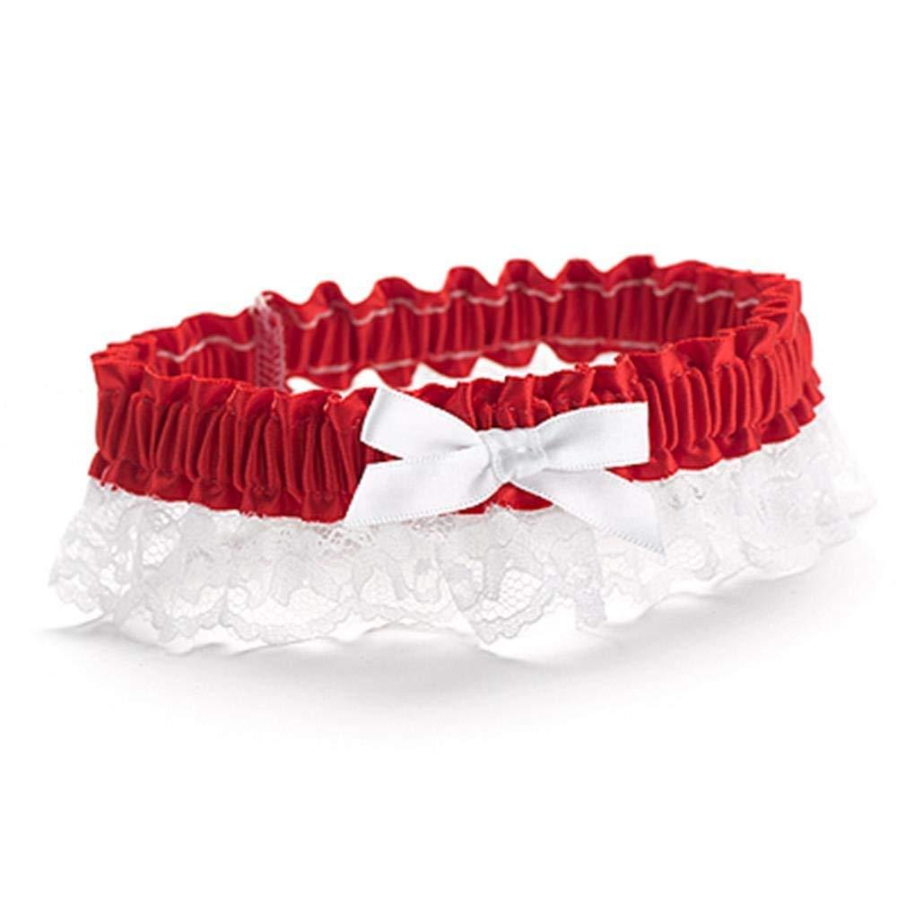 Hewitt Wedding Accessories Ribbon and Lace Garter Black Hortense B
