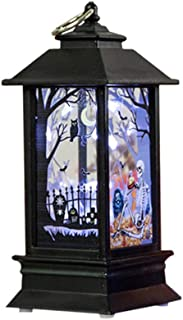 Bxzhiri Decorative Lights Battery Operated1 Pcs Halloween Candle with Led Tea Light Candles for Decoration Lights