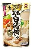 キッコーマン 食品 贅沢豆乳白湯鍋つゆ(750g)