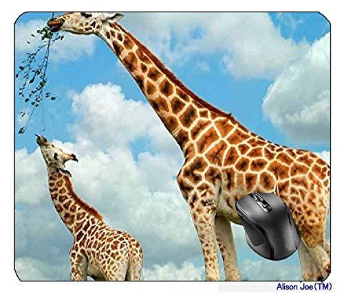 Füttern Giraffen Mousepad Gaming Mouse Pad
