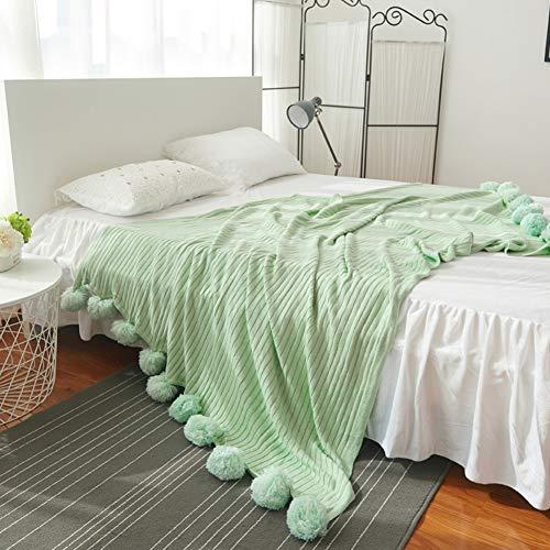 Kele wollen deken voor groot haar, gebreid, vrije tijd, sprei, comfortabel, klimaatdeken voor het hele seizoen
