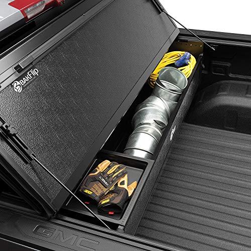 BAK BAKBox 2 Fold-Away Utility Box | 92120 | Fits 2014-2021 Chevy/GMC Silverado/Sierra (w/o CarbonPro Bed) 1500, 2015-21 2500/3500HD All Beds