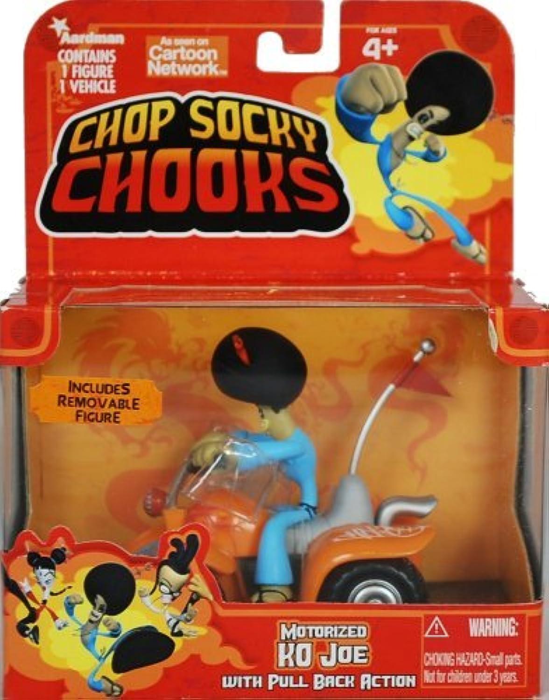 Chop Socky Chooks Motorized KO JOE with Quad Bike and Pull Back Action by Jada