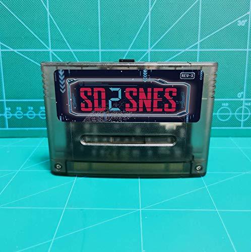 SD2SNES Everdrive Super Nintendo + 16gb sd card - SNES Famicom Super Nes - SD-Karte - spiele