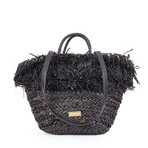 Gioseppo 44870, Shopper para Mujer, Negro (Negro), 16x55x30 cm (W x H x L)