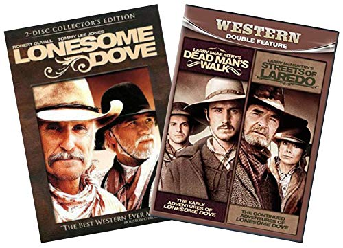 Lonesome Dove 3-Movie Larry McMurtry Western DVD Collection: Lonesome Dove / Dead Man's Walk / Streets of Laredo.