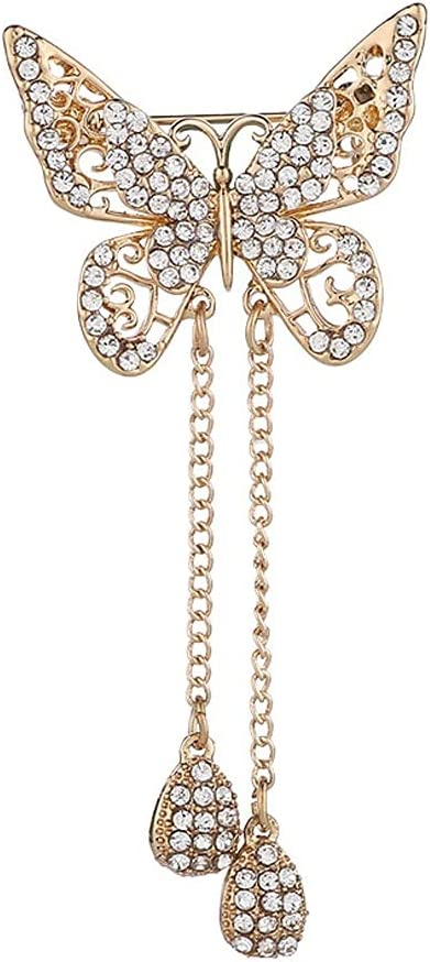 no-logo New Animal Butterfly 2021 spring and summer new Brooch Lapel OFFicial site Crystal Pi Rhinestones