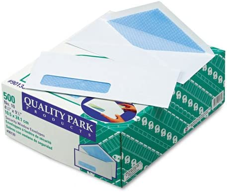 Quality Park Fresno Mall : Security Business Cheap bargain Conte Window Address Envelope