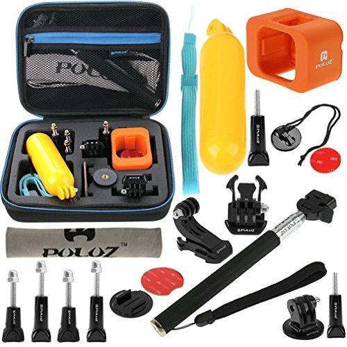 18in1 Kit für Gopro Hero 7 | 6 | 5 | 4 | 3 | 2 HD | 1 | Xiaoyi - Wasser Floaty Schwimmendes Handstativ Einbeinstativ Stativ Tasche usw.