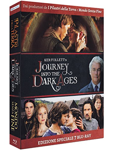 Journey Into The Dark Ages - Ken Follett (Cofanetto 7 Blu-Ray)