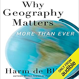Why Geography Matters audiobook cover art