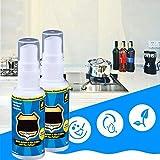 CHERITY Spray Limpiador Magic Degreaser - Removedor de Grasa y Mugre, Armario de Cocina para Limpiadores de Grasa, Polvo y Aceite para El Hogar, Baño de Spray para Moho y Hongos (2 pcs)