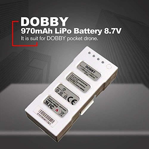 YUNIQUE ESPANA 1 Piezas Batería Inteligente ZEROTECH 970mAh / 7.37Wh diseñada para la batería de Litio Secundaria del Dispositivo de Vuelo de Aviones Dobby 150
