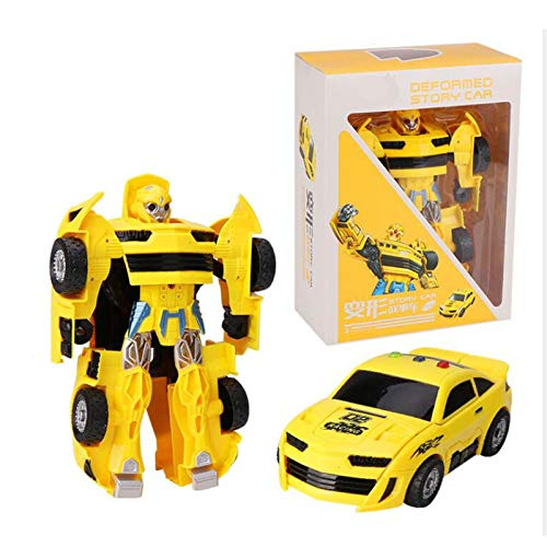 siyushop Transformers Toy, Heroes Rescue Bots, Robot Model, Robot Toys Set For Kids Gift, 2-7 Years Old Child ( Color : Yellow )