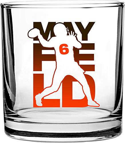 Cleveland Browns NFL Rocks Glass & Shot Glass Set - Primary logo