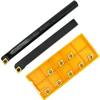 0.060 Minimum Bore Diameter Right Hand Cutting Radius Boring Tool Solid Carbide Tool TiN Coated 0.300 Maximum Bore Depth 0.015 Projection Micro 100 1//8 Shank Diameter BB-060300G 1-1//2 Overall Length 0.003 Tool Radius