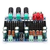50W * 2 + 100W Subwoofer 2.1 canales Placa amplificadora de potencia de audio digital Módulo amplificador de potencia 12-26VDC para altavoz de 4-8 ohmios