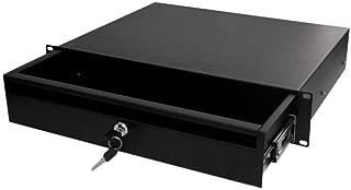 Quest Manufacturing Locking Storage Drawer Shelf, 2 Unit, 19