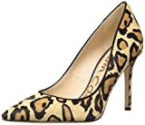 Sam Edelman Women's Classic Hazel Pump, New Nude Leopard, 7.5 Wide US