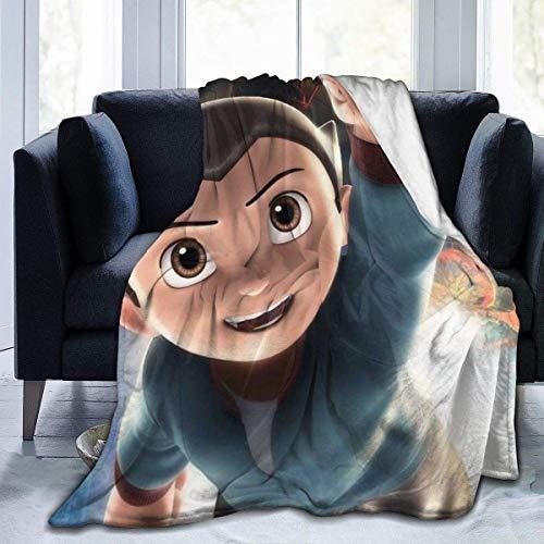 "GTGTH Coperta di Lana Astro Boy Throw Blanket Ultra Soft And Warm Fuzzy Micro Fleece Blanket all Season Lightweight Living Room Bedroom Warm Blanket 50"""" x40"