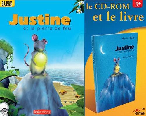 Justine et la pierre de feu + album