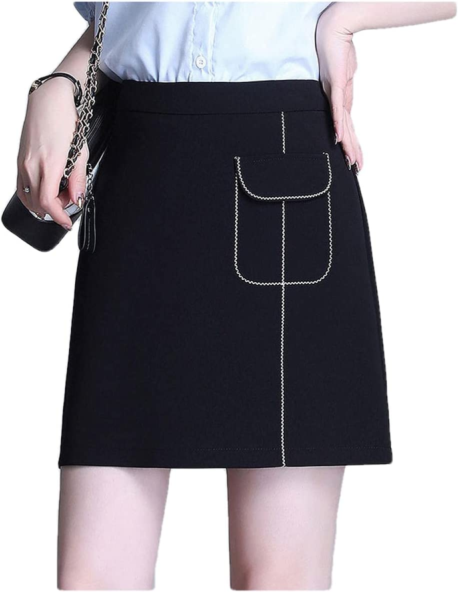 ERTYUIO Women's Novelty Skirts OFFicial shop Half-Length High Wai Easy-to-use Skirt Female