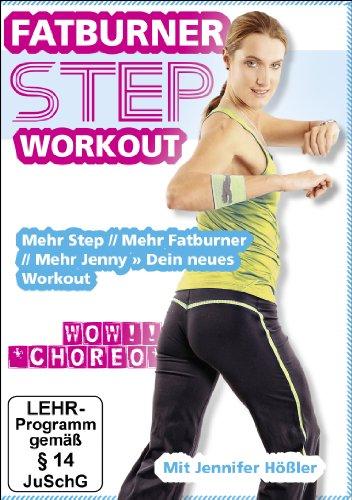 Jennifer Hößler: Fatburner Step Workout ++ Mehr Step // Mehr Fatburner // Mehr Jenny » Dein neues Workout ++