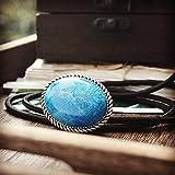LCCDSD bolo Corbata para Hombres Agata Azul para Hombre BOLO Lazo Collar De Boda Original Vintage Western Cowboy Cuerda 3 Corbata de bolo (Color : Rope 1)