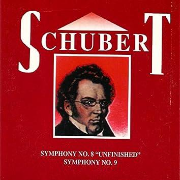 """Schubert, Symphony No. 8 """"Unfinished"""", Symphony No. 9"""