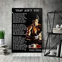 Rocky Balboa That Ain't You Horizontal Paper Poster No Frame (16 X 24)
