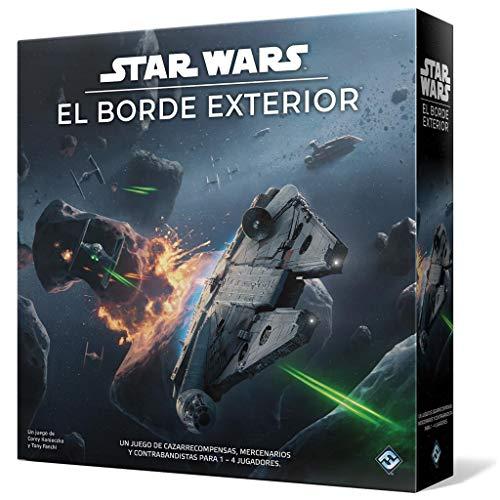 Fantasy Flight Games- Star Wars: El Borde Exterior - Juego de Mesa - Español, Multicolor (SW06ES)