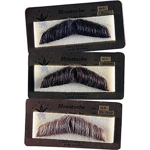 Gentlemens Human Hair Moustache للبيع