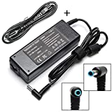 90W 19.5V 4.62A AC Adapter Laptop Charger for HP Envy Touchsmart Sleekbook 15 17 M6 M7 Series, HP Spectre X360 13 15, HP Pavilion 11 14 15 17 741727-001 740015-001 854117-850 Power Supply Cord Plug