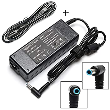 90W 19.5V 4.62A AC Adapter Laptop Charger for HP Envy Touchsmart Sleekbook 15 17 M6 M7 Series HP Spectre X360 13 15 HP Pavilion 11 14 15 17 741727-001 740015-001 854117-850 Power Supply Cord Plug