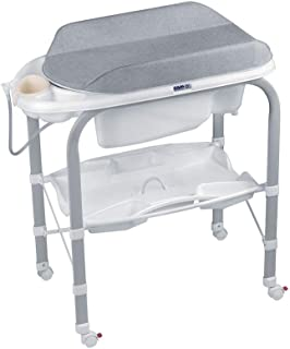 Cam Cambio Changing Table with Bath Tub- Ash Grey