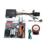 STEELMATE 2-Way Motorcycle Alarm System 986XO with Remote Engine Start