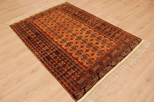 ETFA Teppiche Orientteppich Tekke Turkmen Wollteppich 186x131 cm