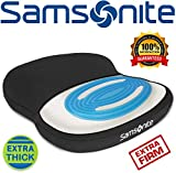 Samsonite SA6020 - Extra Firm & Thick Seat Cushion with Cooling Gel [Cooling
