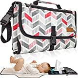 Portable Changing Pad for Newborn Boy and Girl, Waterproof Travel Changing Station Kit, Baby Changing Mat, Portable Diaper Changing Pad, Baby Gift by Soultisfy