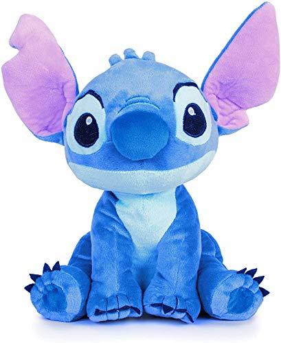 Disney- Stitch Blu Peluche 70cm-Lilo & Stitch Originale, 260004471