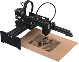 Desktop Laser Engraver, KKmoon 3500mw Portable Engraving Machine Mini Carver for DIY, Art Craft,Laser Logo Mark Printer with Protective Glasses,Working Area 150mmx150mm