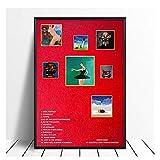 Suuyar Kanye West Poster My Beautiful Dark Twisted Fantasie