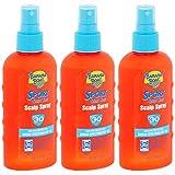 Quik Dri Scalp Spray Sunscreen by Banana Boat - SPF 30, 6 Ounces each (Value Pack of 3)